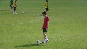 Gerrard Nus joins Black Stars camp in the UAE