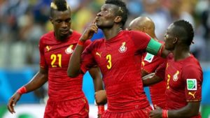 Asamoah Gyan on the verge of equalling Abedi Pele's record at AFCON