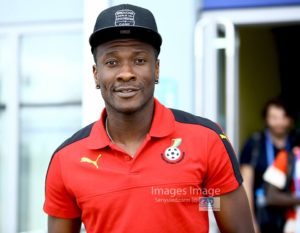 AFCON 2017: Asamoah Gyan insists they want  to keep a 100% record in the Group phase