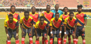 Hearts play Elmina Sharks in friendly on Sunday