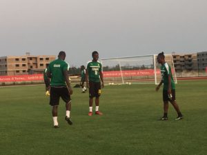 AFCON 2017: Harrison Afful returns to training after short illness