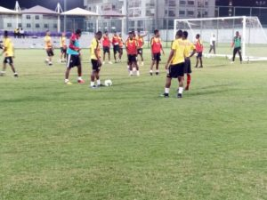 Black Stars complete fourth day of training in Al Ain