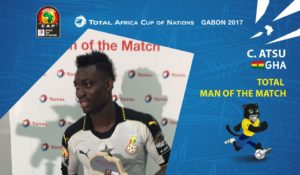 AFCON 2017: Christian Atsu named man-of-the-match against Uganda