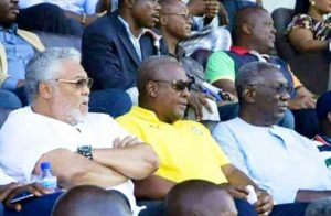 Former President John Mahama calls on colleague ex-president's to support Black Stars