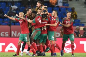 Video: Great scenes in the Moroccan dressing room after eliminating Ivory Coast