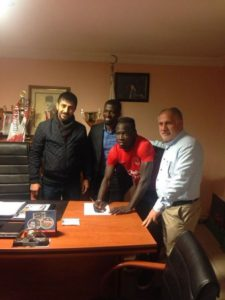 Ex-Ghana youth international Seidu Salifu joins Turkish second-tier side Ümraniyespor Kulubu