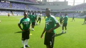 PHOTOS: Black Stars to hold last training in Al Ain ahead of AFCON departure