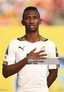 AFCON 2017: Defender Harrison Afful missed Ghana's training