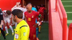 Andre Ayew captains Ghana in friendly against Uzbekistan giants Bunyodkor