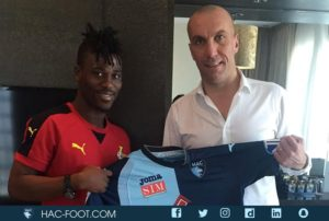 Black Stars forward Ebenezer Assifuah joins French side Le Havre