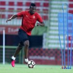 Video:  Asamoah Gyan undertakes extra extra penalty kick training after Black Stars training session in Al Ain
