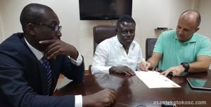 New Asante Kotoko coach Zdravko Lugarusic tasked to win all titles