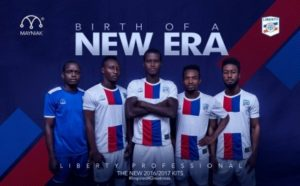 Dansoman Liberty Professionals unveil kits for the upcoming season