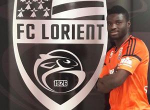 BROTHERLY LOVE: Mubarak Wakaso congratulates Alhassan on Lorient transfer