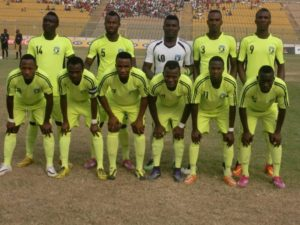 CAF Confed Cup: Bechem United 2-1 MC Alger - The Hunters edge MC Alger in Accra