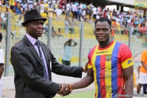 Hearts defender Musah Inusah named man-of-the-match against Medeama SC