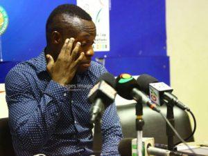 Olympics chief supporter Langabel fires coach Godwin Attram