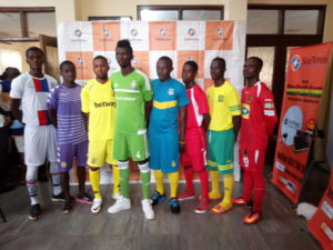 Ghana Premier League clubs unveil home and away kits at the launch of the 2016/17 league season