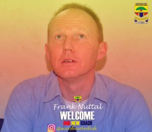 OFFICIAL: Hearts of Oak announce Frank Nuttal signing as coach