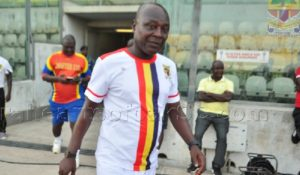 Hearts coach Henry Lamptey Wellington persuades striking players to return to traininh