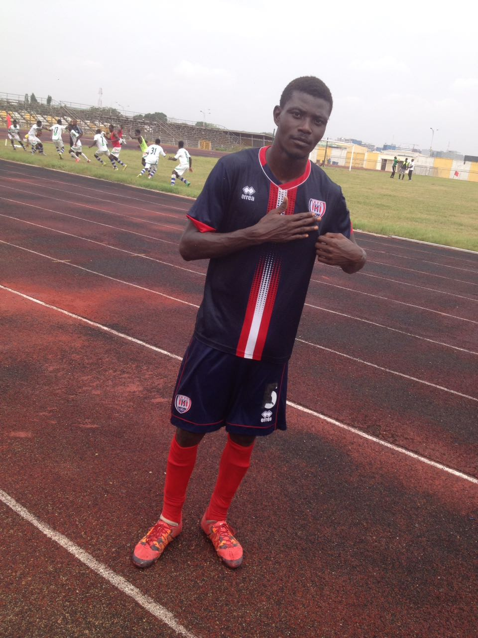 EX-Charity FC star Samuel Konney poised for Inter Allies debut against Hearts