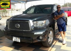 New Kotoko Coach Zdravko Lugarosic happy with car gift from Club