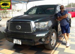 New Kotoko Coach Zdravko Lugarosic happy with car gift from Club