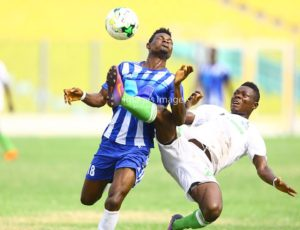 MATCH REPORT: Accra Great Olympics 2-2 Elmina Sharks - Dade Boys blow two-goal lead