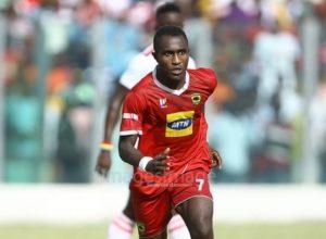 Injured Kotoko striker Obed Owusu to undergo test today