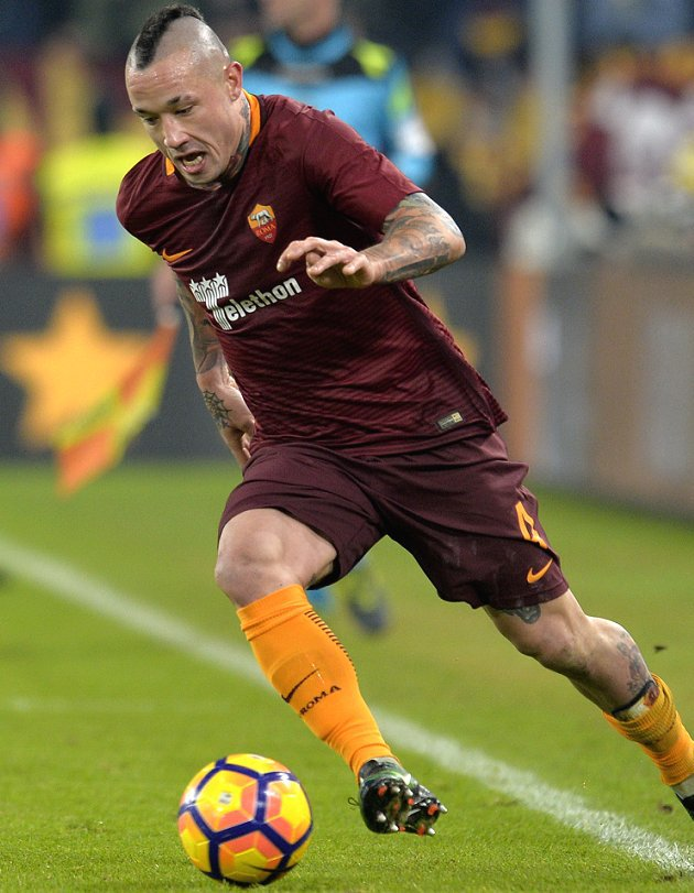 ​Reported Chelsea target Nainggolan happy to stay with Roma