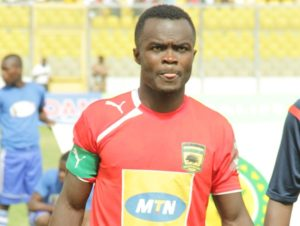 I will decide on my future after the season-Kotoko skipper Amos Frimpong