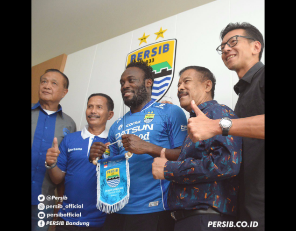 Michael Essien Joins Indonesian Team Persib Bandung on 1-Year Contract