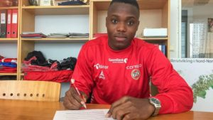 Former Inter Allies defender Patrick Kpozo officially signs with Norwegian side Tromsø Idrettslag