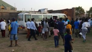 Some Hearts fans confront players after 2-1 defeat to Tema Youth