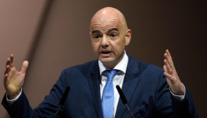 FIFA President Gianni Infantino refuses to speak after CAF elections in Addis Ababa