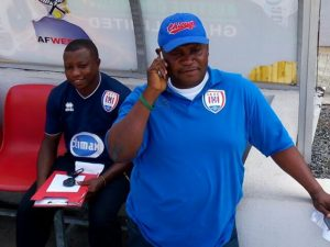 Coach Jimmy Corblah on the verge of winning the Togo league with Maranatha FC