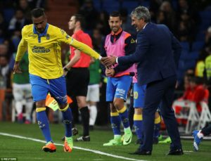 Kevin-Prince Boateng scores for Las Palmas in 3-3 draw with Real Madrid