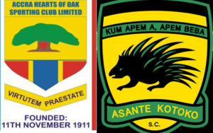 Kotoko face-off with rivals Hearts in Presidential Ghana@60 match