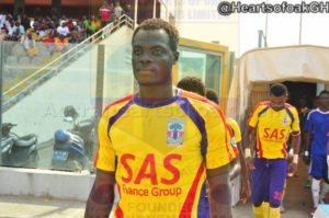 Hearts defender Inusah Musah happy with season's first goal