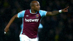 Andre Ayew scores again in West Ham defeat to Leicester