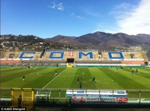 What can Michael Essien's wife expect at Como?