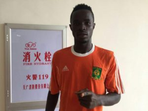 Ebusua Dwarfs captain Nicholas Gyan sets sight on GPL goal king title