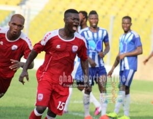 Prince Baffoe and Kwame Baah win Inter Allies Players of the Week