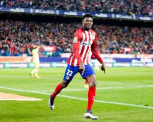 Thomas Partey plays 90 minutes for Atletico Madrid in 1-1 draw with Deportivo