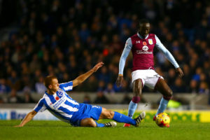 Albert Adomah involve in Aston Villa 2-0 win over Norwich City