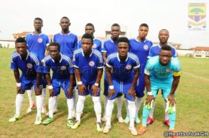 MATCH REPORT: Berekum Chelsea drop points in 1-1 stalemate with Inter Allies