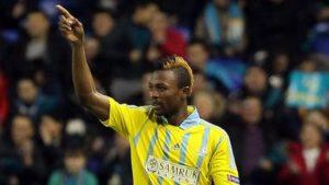 Patrick Twumasi impresses in FC Astana 2-1 win over Shakhtar Karagandy