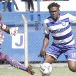 Gilbert Fiamenyo scores for AFC Leopards in Kenyan League
