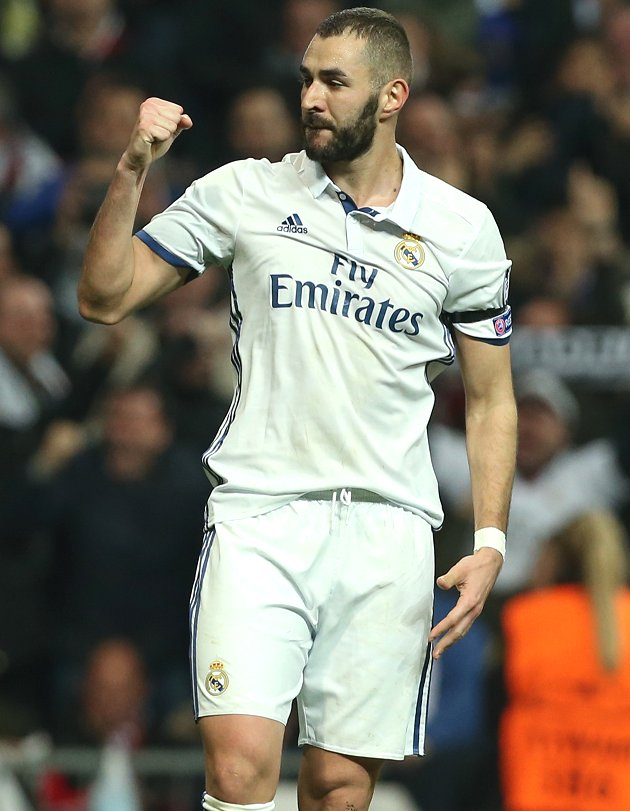Real Madrid striker Karim Benzema buzzing over wonder assist