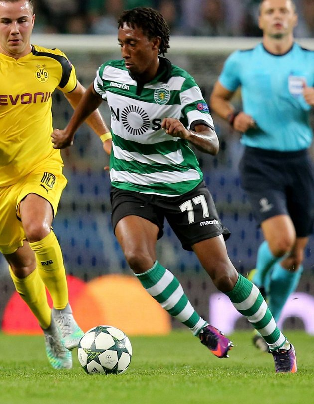 Sporting CP demand Man City go higher for young pair Gelson Martins and William Carvalho